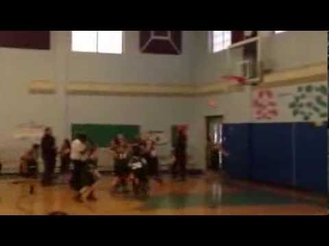 Ardena School dramatic game-tying three-pointer at the buzz
