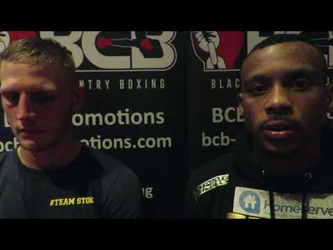 Rivals Tom Stokes and Tyler Denny on their title fight