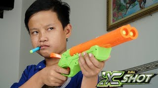 - NERF VS XSHOT BATTLE
