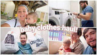shopping for baby clothes + weekend vlog!