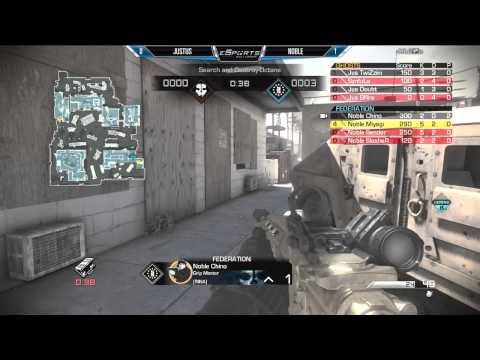 Noble Vs Justus - Game 2 (eSports Report - Oct 7th 2014)