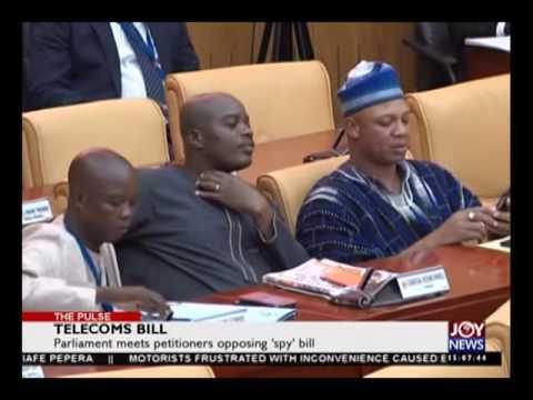 Telecom bill - The Pulse on Joy News (23-5-16)