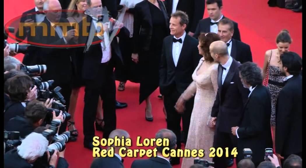 Sophia Loren Red Carpet Cannes 2014 Youtube