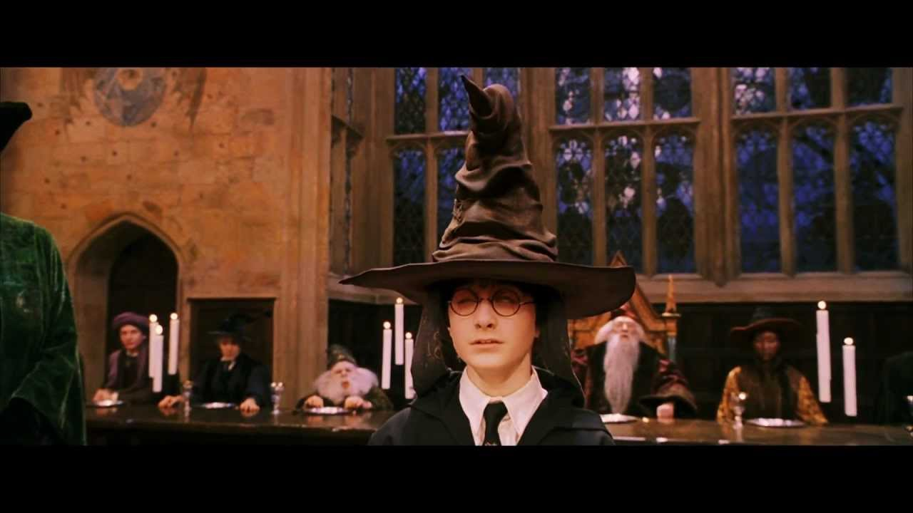 Image result for sorting hat scene