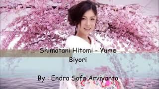 Lagu jepang hitomi shimatani _ yume biyori