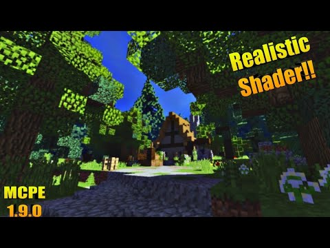 Ultra Realistic Shader For MCPE 1 9 0+ // Minecraft Bedrock Edition Shader