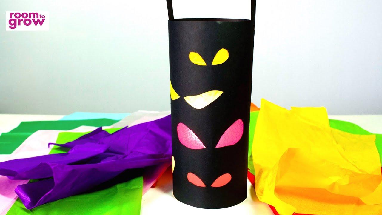 halloween lantern crafts for kids youtube - Youtube Halloween Crafts