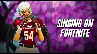 Singing to a GIRL on Fortnite! - Original Song