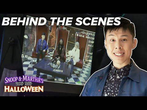 Alvin Zhou Takes Us Behind The Scenes Of 'Snoop & Martha's Very Tasty Halloween'
