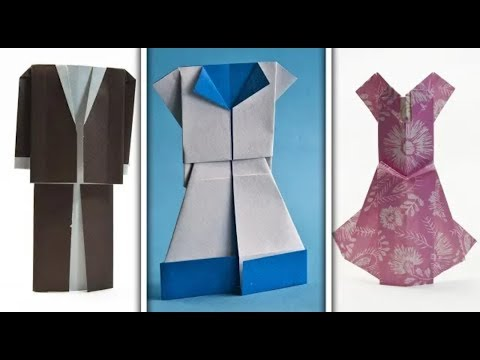 How To Make a paper Clothes | Paper Dress