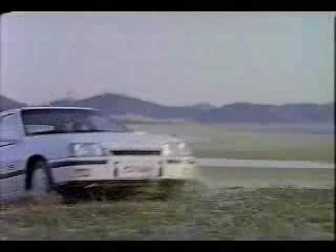 Daewoo Lemans GSi 1989 commercial (korea)