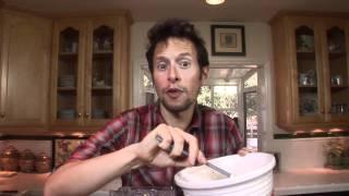 Mulberry Blueberry Pan Crêpes Gluten-free: Vegan Organic Recipe