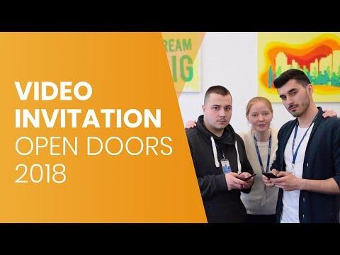 Open Doors ASSIST 2018 - video invitation