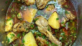 Chicken aloo shorba | Tasty and Easy chicken aloo shorba