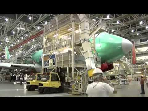 Boeing 747 8 Freighter Assembly To Boeing Everett Factory