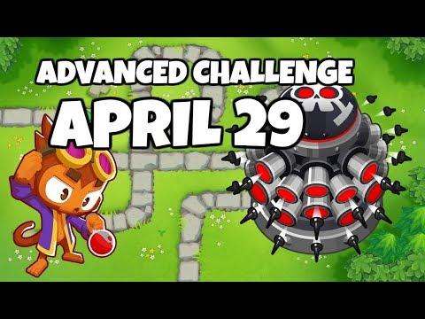 BTD6 Advanced Challenge - Easy Challenge - April 29 2019