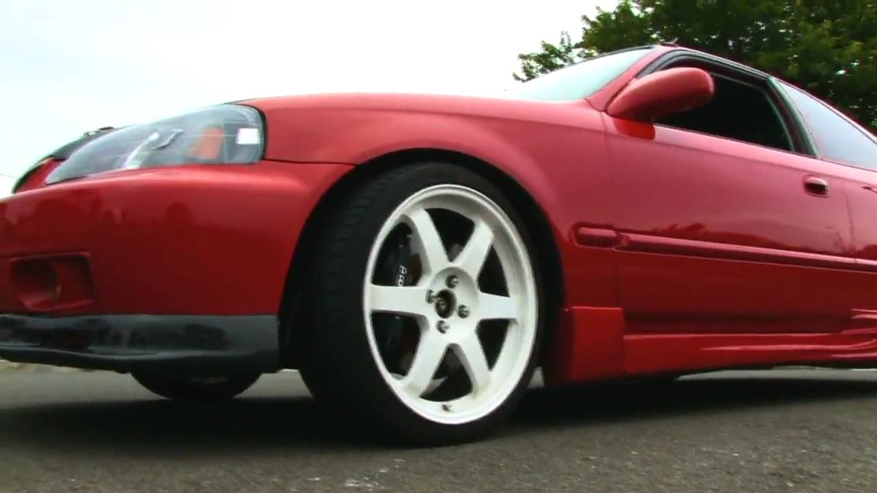 Check This Out Red 1999 Honda Civic Si 230 Whp Na Hd