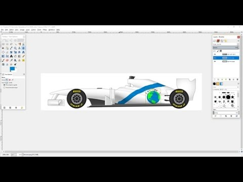 Making A Custom F1 Livery