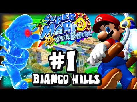 Super Mario Sunshine 1080p Part 1 Bianco Hills Youtube