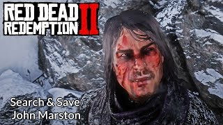 Red Dead Redemption 2 - Search & Save John Marston Gameplay (RDR2 2018)
