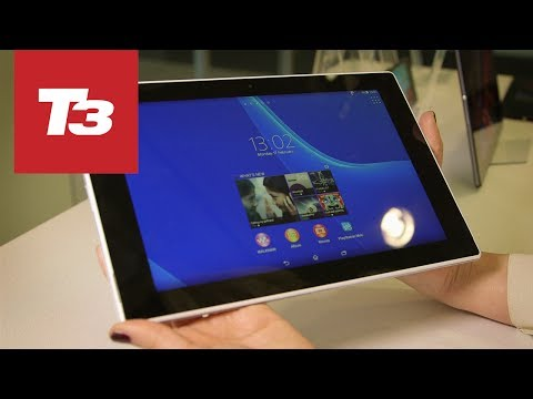 Sony Xperia Tablet Z2 hands-on preview