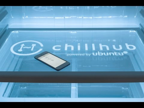 New Refrigerator that knows when you're out of milk via Chill Hub
