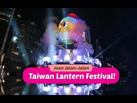 JOAN JALAN-JALAN (JJJ) | ke Taipei Ximending Lantern Festival ! #TAIWAN