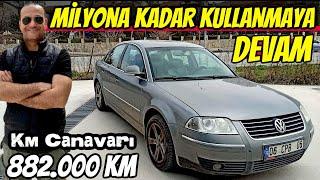 KM CANAVARLARI | VW Passat B5.5 1.9TDi | 882.000km
