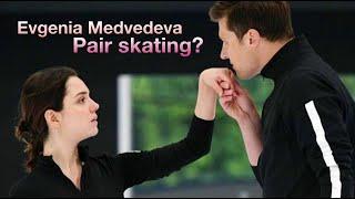 Evgenia Medvedeva figure skating show pair training with Aleksandr Enbert Fly Again