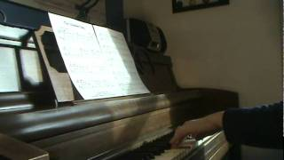 The Chickadee Song Piano Solo