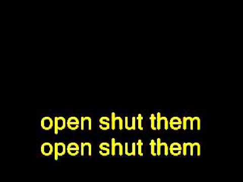 open shut them lyrics