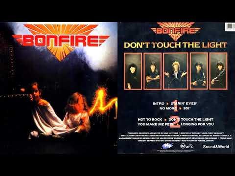 Bonfire – Don't Touch The Light (Vinyl, LP, Album) 1986.