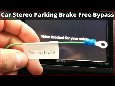 How To Enable Video Playback On Your Car Stereo! Bypass!