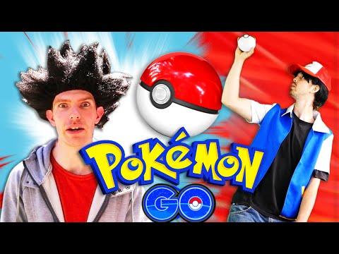 Pokémon GO - REAL LIFE PARODY!