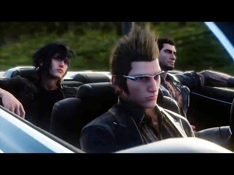 Final Fantasy XV Trailer - TGS 2014