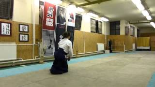 tai sabaki suwariwaza [AIKIDO]  basic technique