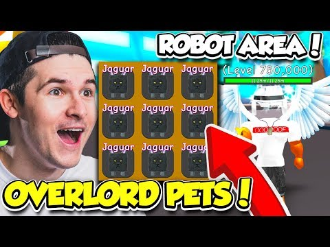 I GOT SO MANY OVERLORD PETS IN RPG WORLD SIMULATOR!! *BEST PET* (Roblox)