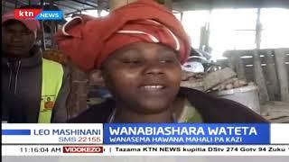 Wafanyibiashara wa Kitengela waondolewa sokoni na serikali ya Kaunti