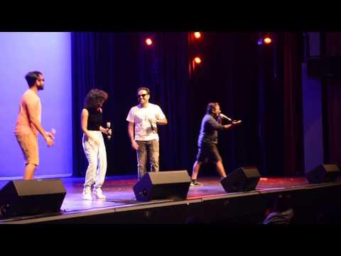 Vineeth Sreenivasan & Team...petta rap...