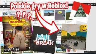 WE PLAY POLISH GAMES ON ROBLOX! Scary