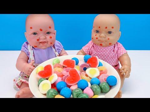 #Куклы Объелись Конфет Мультики для детей Как Мама Ходила в Магазин Покупала Фрукты 108мама тв