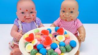 #Куклы Объелись Конфет Мультики для детеи Как Мама Ходила в Магазин Покупала Фрукты 108мама тв
