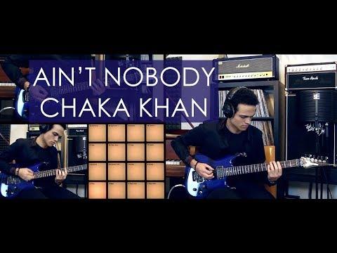 AIN'T NOBODY - Rufus & Chaka Khan - Guitar Cover by Adam Lee