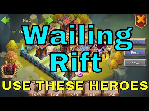 Wailing Rift New Game Mode In Castle Clash