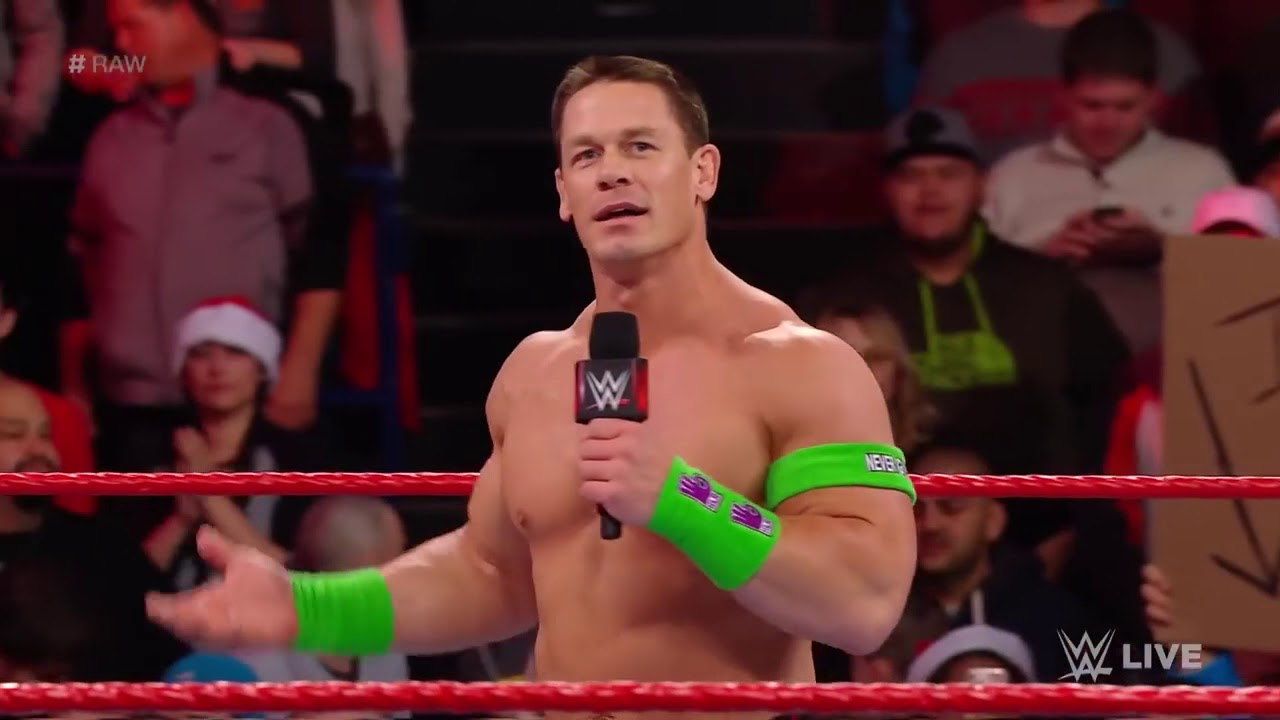 John Cena presents a touching Christmas gift to one lucky young fan ...