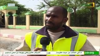 تواصل عمليات شفط المياه من شوارع نواكشوط  - 19/09/2016