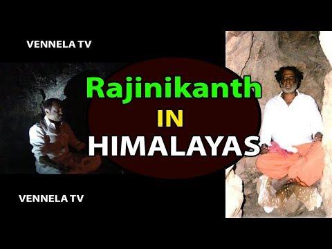 RajiniKanth in Himalayas Rare Video