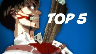Attack On Titan Top 5 WTF Moments - Anime Club 6