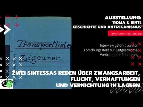 Sintessas: Tragische Familiengeschichte fast die ganze Familie starb in KZs verteilt in ganz DE