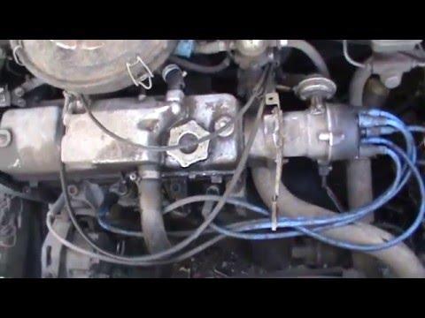 Замена поршневой и ремонт головки не снимая двигателя ВАЗ 21099 1 Часть